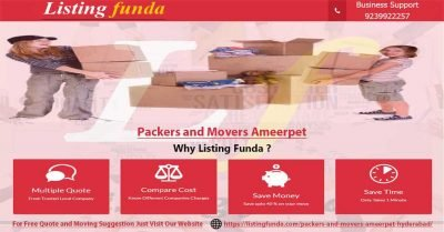 Packers Movers Ameerpet Hyderabad Image of ListingFunda.Com