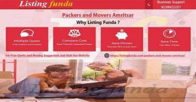 Packers Movers Amritsar Image of ListingFunda.Com