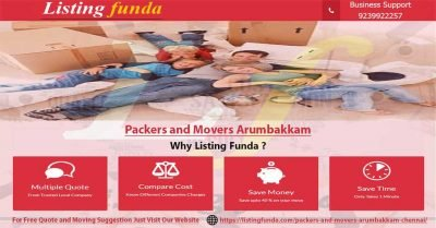 Packers Movers Arumbakkam Chennai Image of ListingFunda.Com