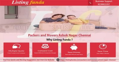 Packers Movers Ashok Nagar Chennai Image of ListingFunda.Com