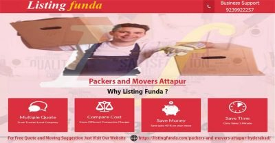 Packers Movers Attapur Hyderabad Image of ListingFunda.Com