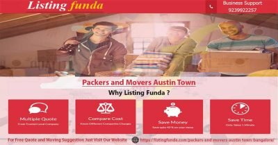 Packers Movers Austin Town Bangalore Image of ListingFunda.Com