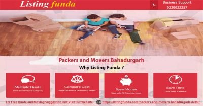 Packers Movers Bahadurgarh Delhi Image of ListingFunda.Com
