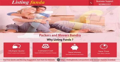 Packers Movers Bandra Mumbai Image of ListingFunda.Com