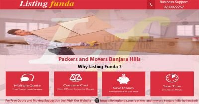 Packers Movers Banjara Hills Hyderabad Image of ListingFunda.Com