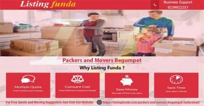 Packers Movers Begumpet Hyderabad Image of ListingFunda.Com