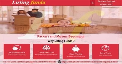 Packers Movers Begumpur Delhi Image of ListingFunda.Com