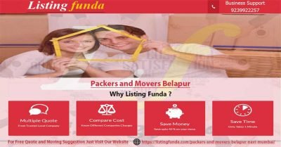 Packers Movers Belapur Navi Mumbai Image of ListingFunda.Com