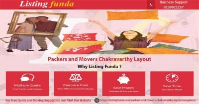 Packers Movers Chakravarthy Layout Bangalore Image of ListingFunda.Com