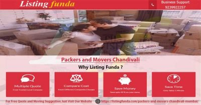 Packers Movers Chandivali Mumbai Image of ListingFunda.Com
