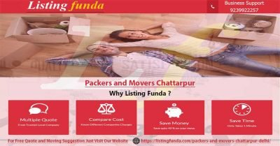 Packers Movers Chattarpur Delhi Image of ListingFunda.Com
