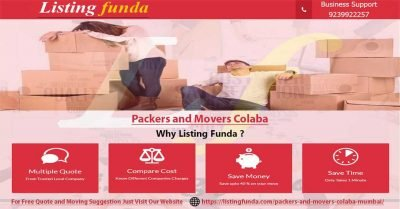 Packers Movers Colaba Mumbai Image of ListingFunda.Com
