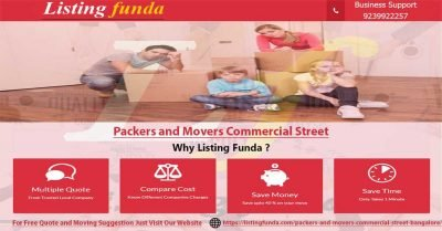 Packers Movers Commercial Street Bangalore Image of ListingFunda.Com