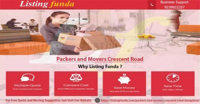 Packers Movers Crescent Road Bangalore Image of ListingFunda.Com
