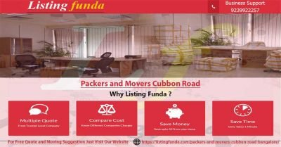 Packers Movers Cubbon Road Bangalore Image of ListingFunda.Com