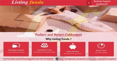 Packers Movers Cubbonpet Bangalore Image of ListingFunda.Com
