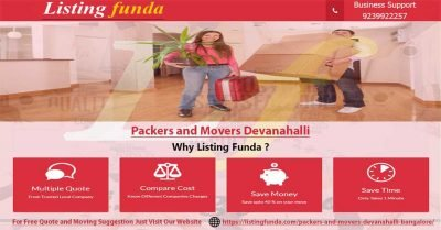 Packers Movers Devanahalli Bangalore Image of ListingFunda.Com