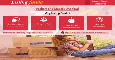 Packers Movers Dhanbad Image of ListingFunda.Com