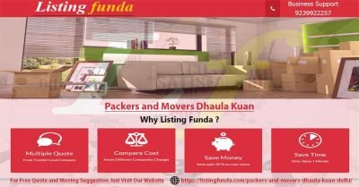 Packers Movers Dhaula Kuan Delhi Image of ListingFunda.Com