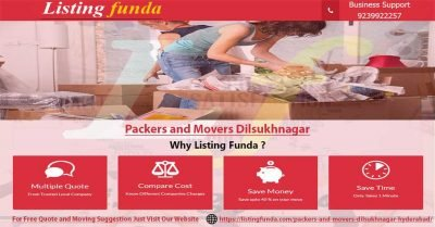 Packers Movers Dilsukhnagar Hyderabad Image of ListingFunda.Com
