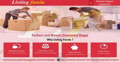 Packers Movers Dooravani Nagar Bangalore Image of ListingFunda.Com