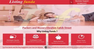 Packers Movers Ebrahim Sahib Street Bangalore Image of ListingFunda.Com