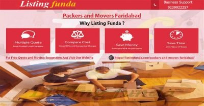 Packers Movers Faridabad Image of ListingFunda.Com