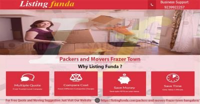 Packers Movers Frazer Town Bangalore Image