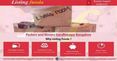 Packers Movers Gandhinagar Bangalore Image of ListingFunda.Com