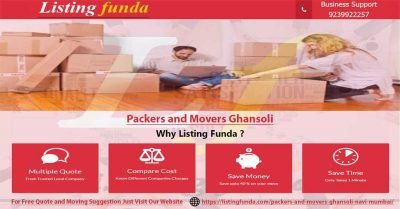 Packers Movers Ghansoli Navi Mumbai Image of ListingFunda.Com