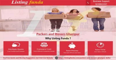 Packers Movers Ghazipur Delhi Image of ListingFunda.Com