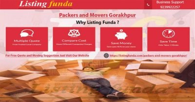 Packers Movers Gorakhpur Image of ListingFunda.Com