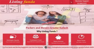 Packers Movers Greater Kailash Delhi Image of ListingFunda.Com