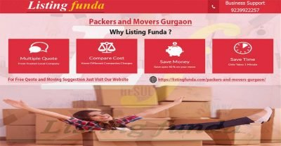 Packers Movers Gurgaon Image of ListingFunda.Com