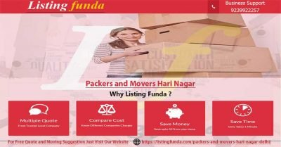 Packers Movers Hari Nagar Delhi Image of ListingFunda.Com