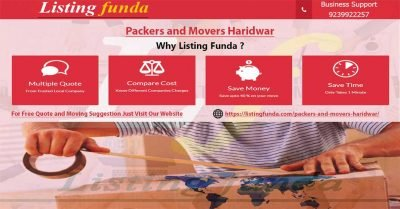 Packers Movers Haridwar Image of ListingFunda.Com