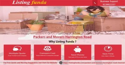 Packers Movers Harrington Road Chennai Image of ListingFunda.Com