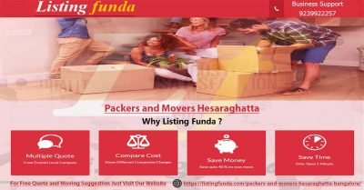 Packers Movers Hesaraghatta Bangalore Image of ListingFunda.Com