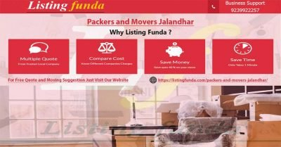 Packers Movers Jalandhar Image of ListingFunda.Com
