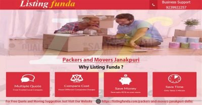 Packers Movers Janakpuri Delhi Image of ListingFunda.Com