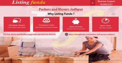 Packers Movers Jodhpur Image of ListingFunda.Com