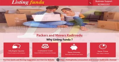 Packers Movers Kadirvedu Chennai Image of ListingFunda.Com