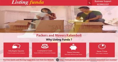 Packers Movers Kalamboli Navi Mumbai Image of ListingFunda.Com