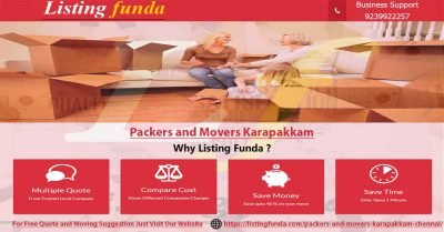 Packers Movers Karapakkam Chennai Image of ListingFunda.Com