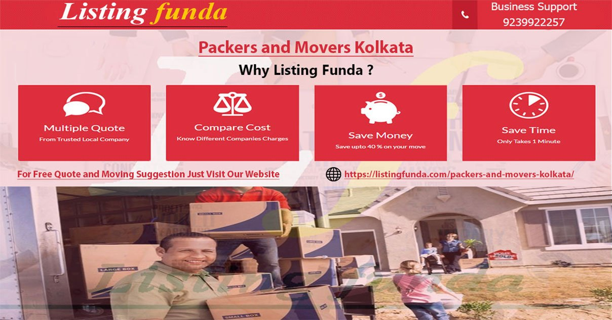 Packers Movers Kolkata Image of ListingFunda.Com