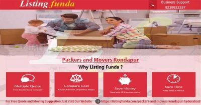 Packers Movers Kondapur Hyderabad Image of ListingFunda.Com