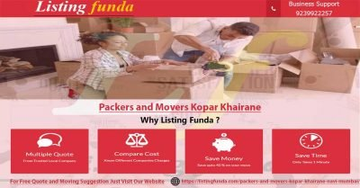 Packers Movers Kopar Khairane Navi Mumbai Image of ListingFunda.Com
