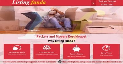 Packers Movers Korukkupet Chennai Image of ListingFunda.Com