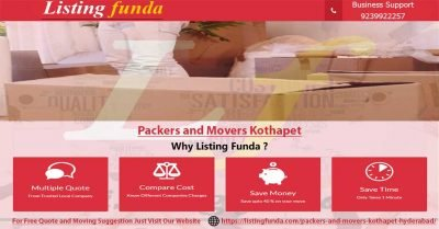 Packers Movers Kothapet Hyderabad Image of ListingFunda.Com
