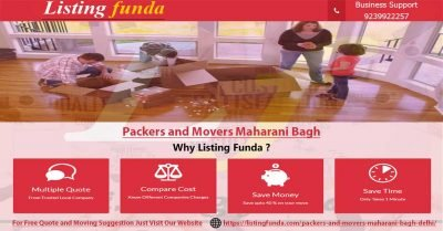 Packers Movers Maharani Bagh Delhi Image of ListingFunda.Com